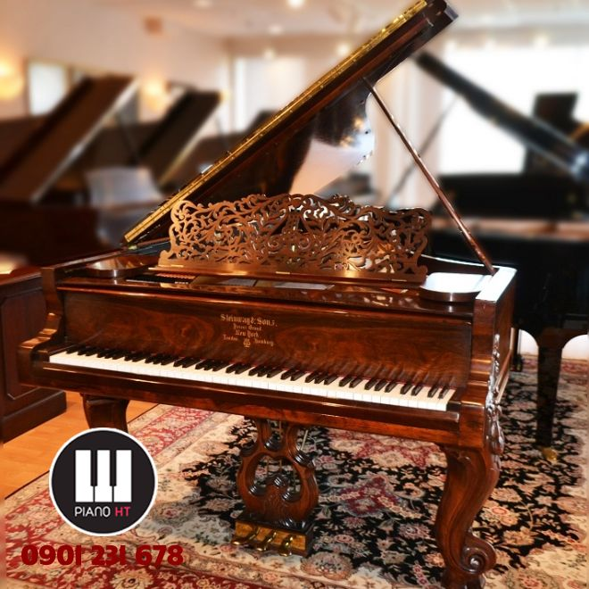 Piano Grand Steinway& Sons Rosewood